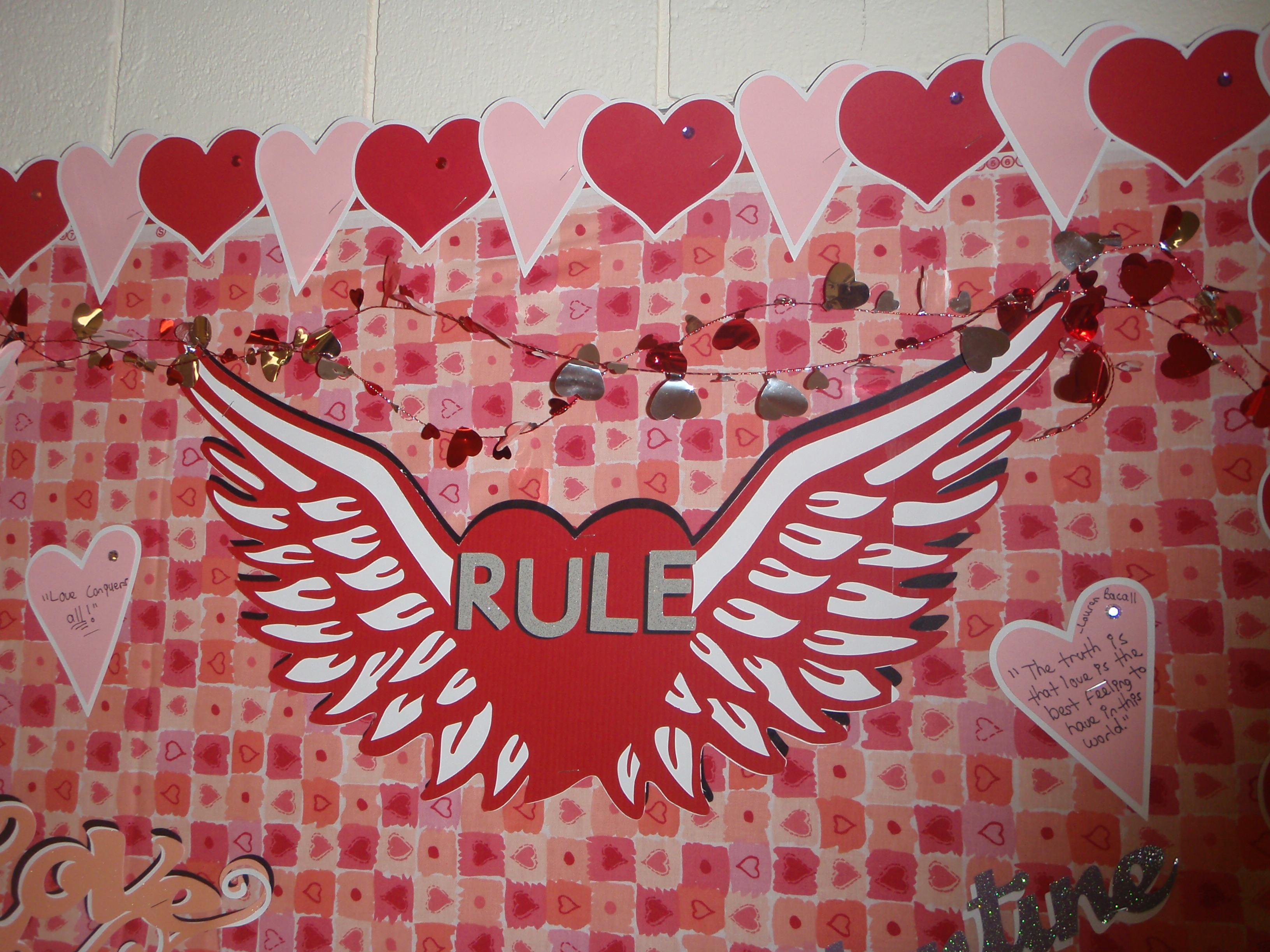 Church Valentines Board (4)