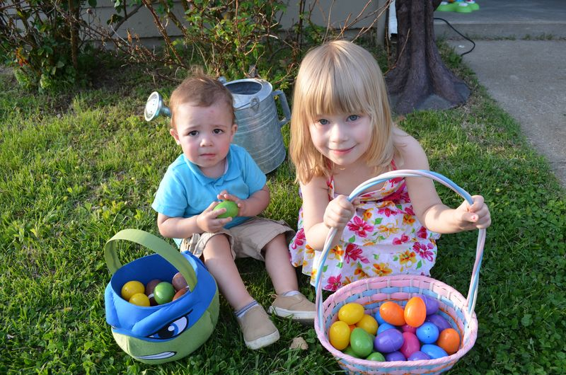 Easter 2014, Gage, Charlotte and Bella (31)